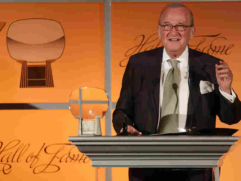 Larry Gelbart at the 2008 Academy of Television Arts & Sciences' Hall of Fame ceremony