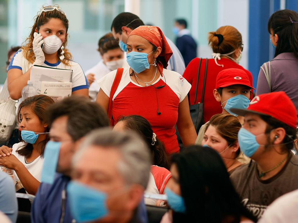 When swine flu hit last spring many emergency rooms were overcrowded like this one in Mexico City. Health officials are working to inform the public when to go to the emergency room and when to stay home.