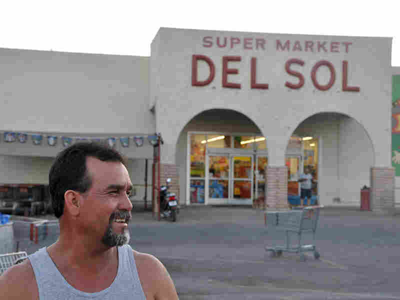 Joel Silva lives in Mexico but works in Arizona. Jesse Shapins