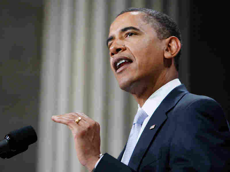 President Obama speaks about the financial crisis