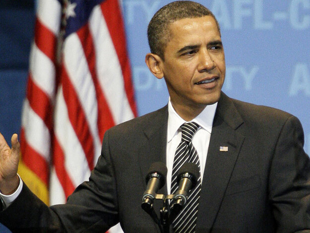 President Obama used his address to the AFL-CIO convention in Pittsburgh on Tuesday to push for an overhaul of the nation's health care system.