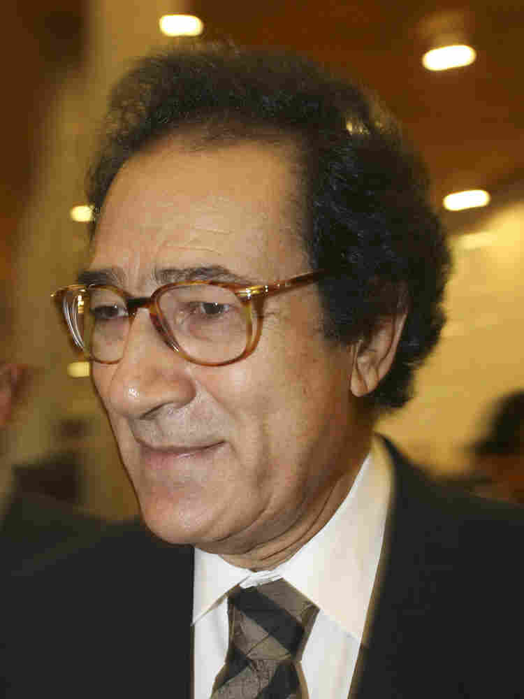 Egyptian Culture Minister Hosni Farouk