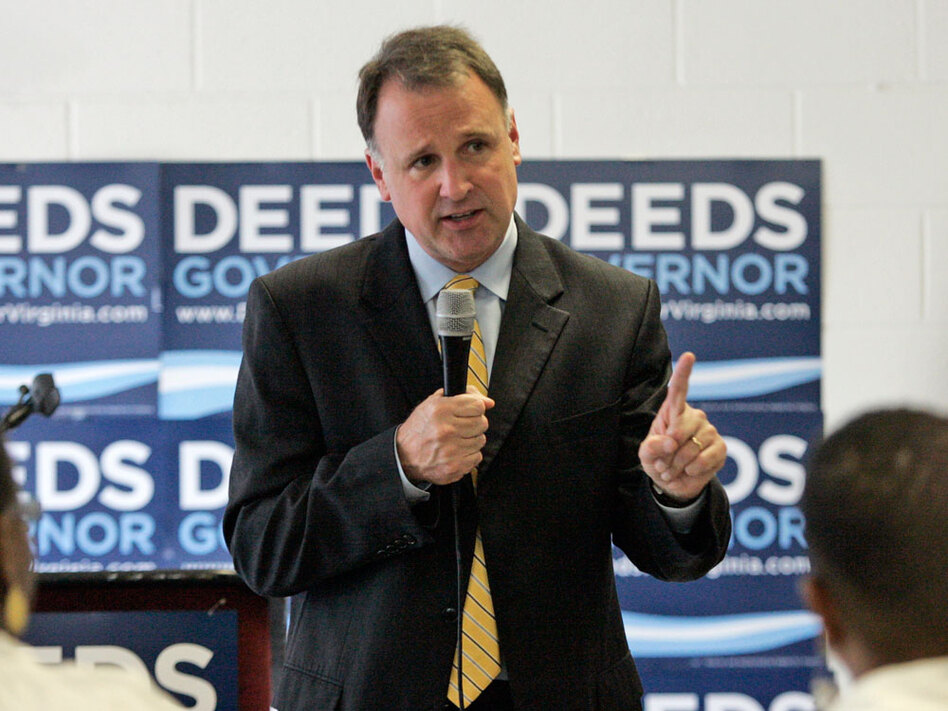 Democratic gubernatorial candidate, Creigh Deeds, has spent much of his campaign focusing on the social values of his opponent. Meanwhile, many Virginia voters are preoccupied with the economy and jobs outlook.