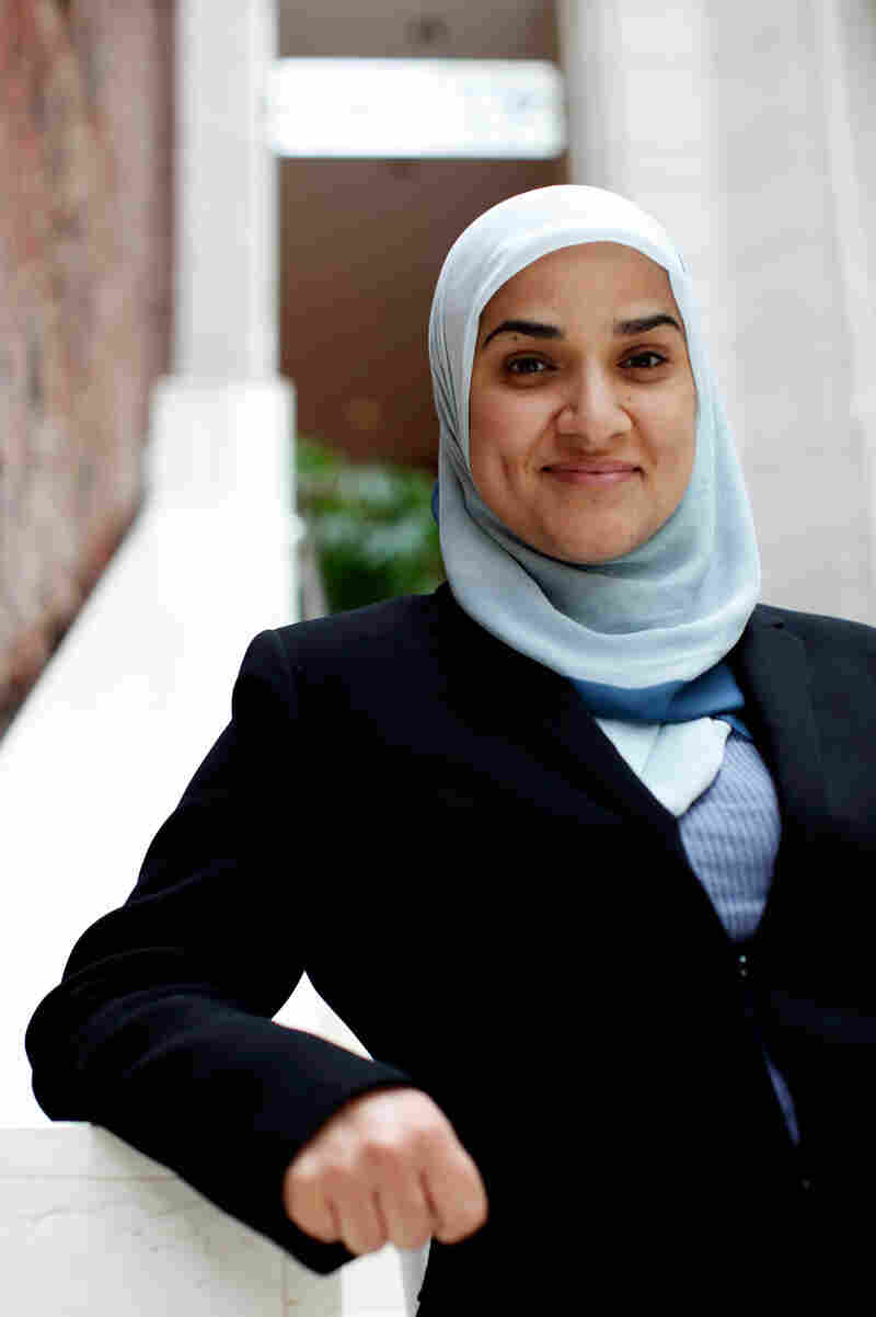 Dalia Mogahed of the center for Muslim Studies, Gallup Consulting (custom)
