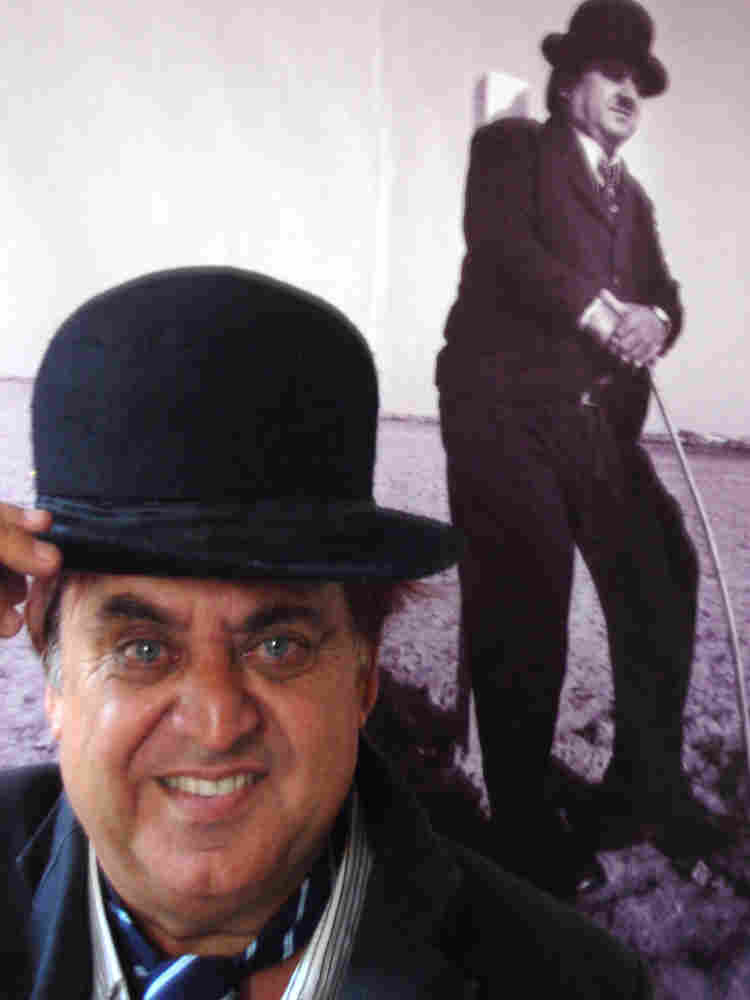 Ashok Aswani, ayurvedic practitioner and Chaplin fan and mimic