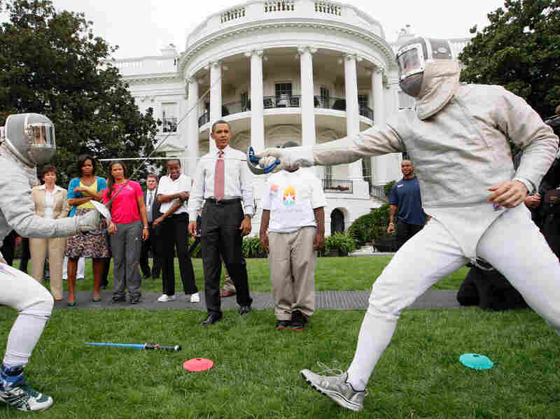 Chicago Olympics Bid at White House