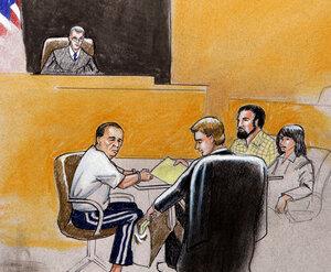 U.S. Magistrate Judge Craig Shaffer presides over a hearing for Najibullah Zazi  and his father