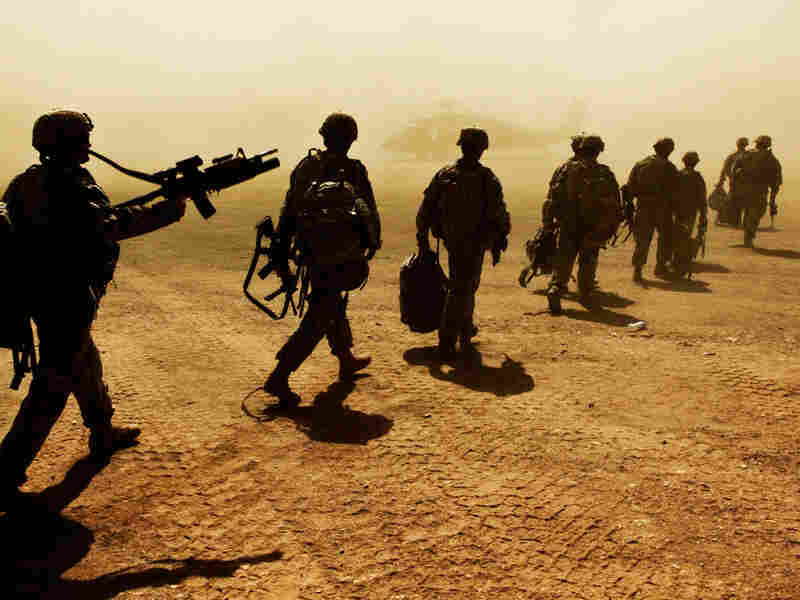 Members of the 3rd platoon Apache Company 2-87 Infantry, 10th Mountain Division in Afghanistan