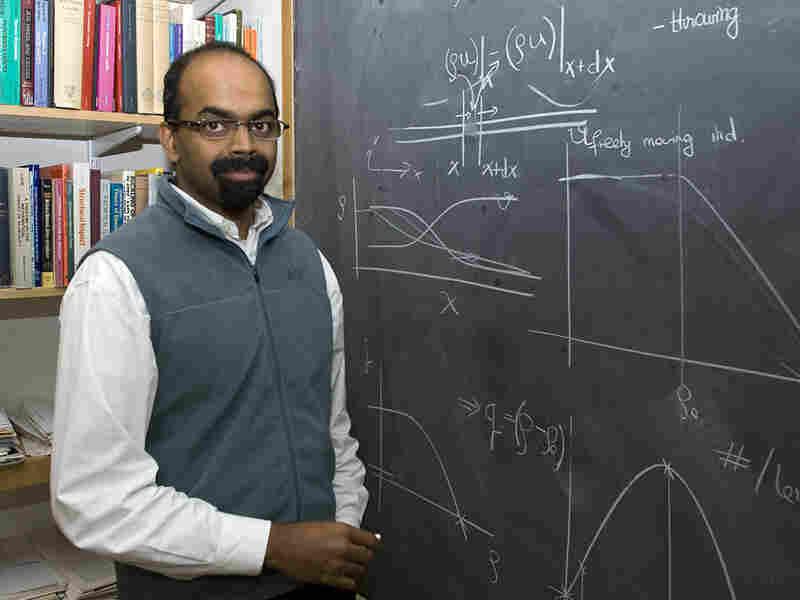 MacArthur Grant winner Lakshminarayanan Mahadevan.