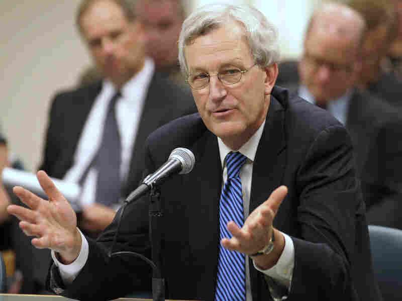 University of Illinois President B. Joseph White resigned Wednesday.