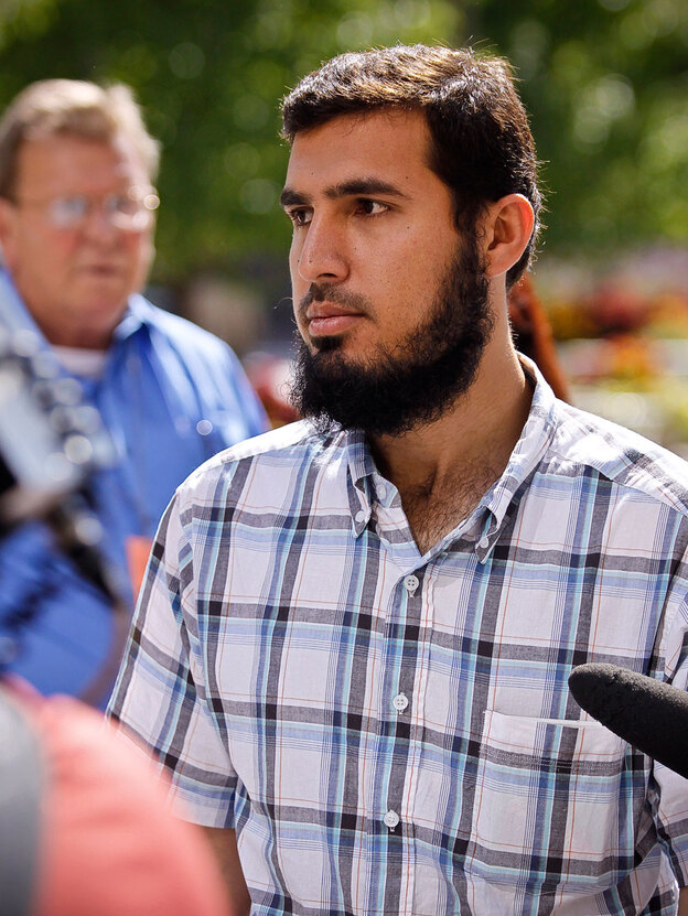 Najibullah Zazi was arrested on charges of lying to federal authorities in connection with a possible terrorism plot. (Getty Images)