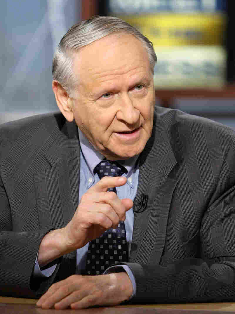 William Safire on Meet The Press in 2007. Alex Wong/Getty Images