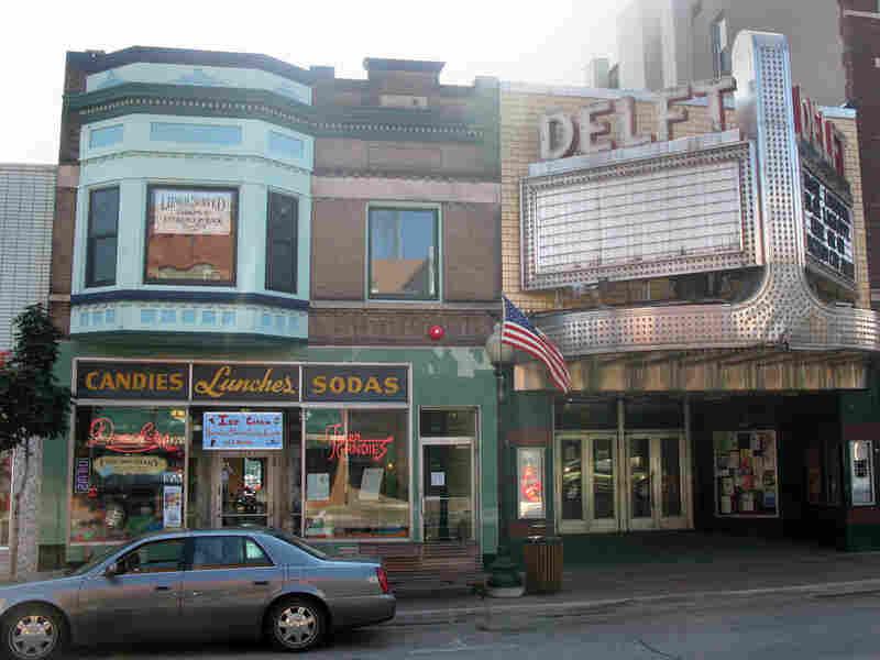 Downtown Marquette in Michigan's U.P. Ned Wharton/NPR