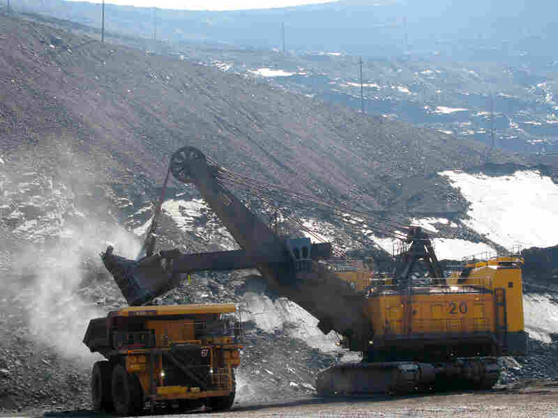 Empire Mine near Ishpeming, Mich. Ned Wharton/NPR