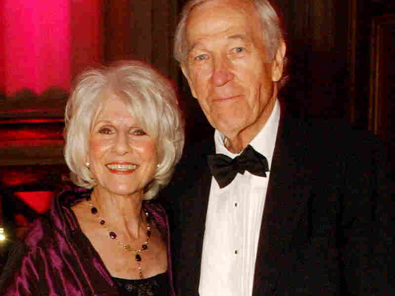 Diane Rehm and Roger Mudd