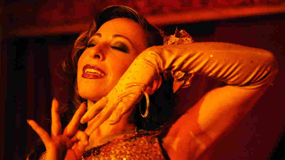 WIDE: Angie Pontani performs at the Sixth Annual New York Burlesque Festival.