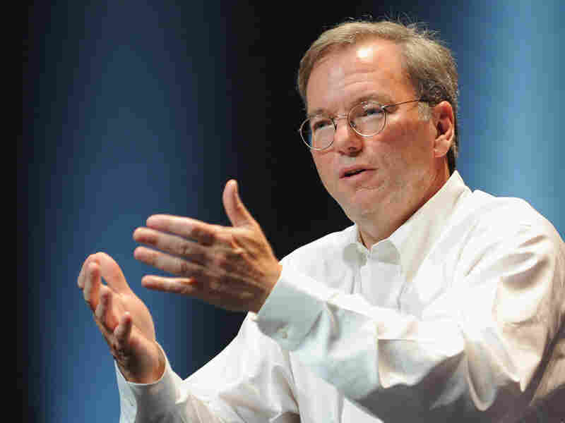Eric Schmidt, CEO of Google