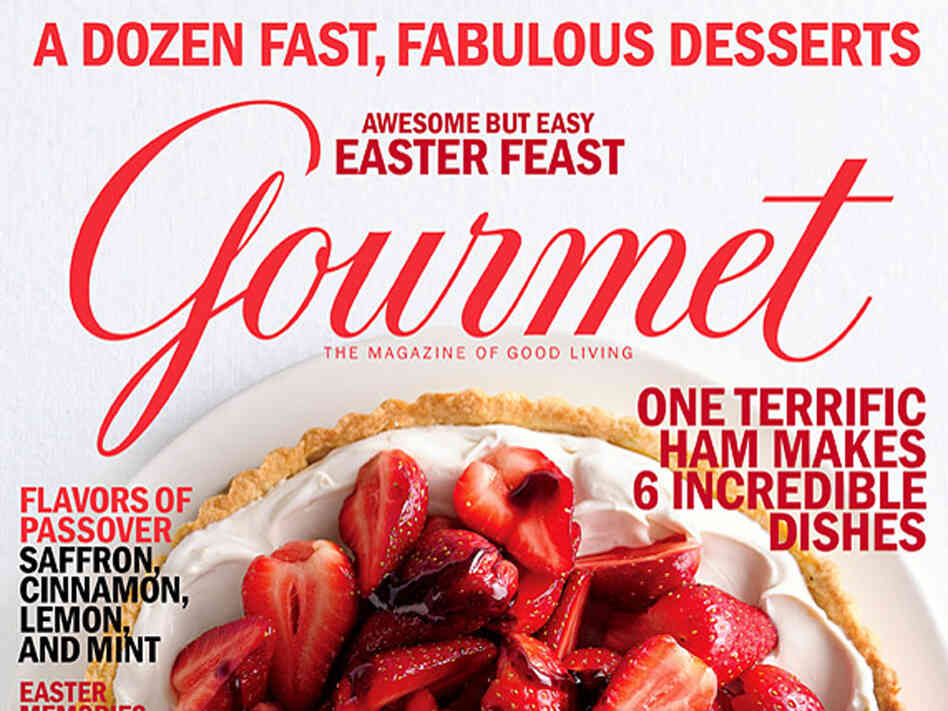 'Gourmet' magazine cover