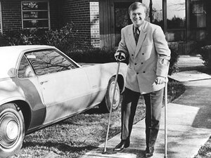Cleland during his campaign for the Georgia State Senate in 1970.