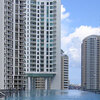 The rooftop pool at the Icon Brickell condos.