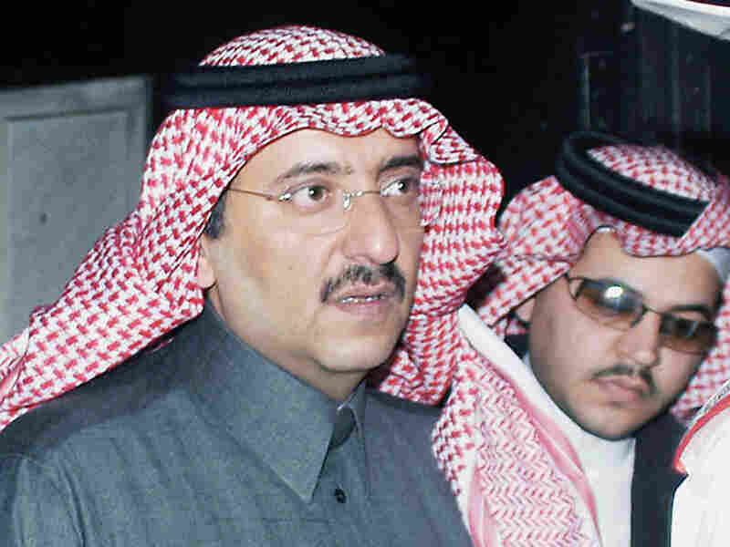 A 2004 photo of Saudi Prince Mohammed bin Nayef.