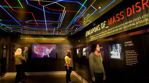 wide: The spy museum cybersecurity exhibit