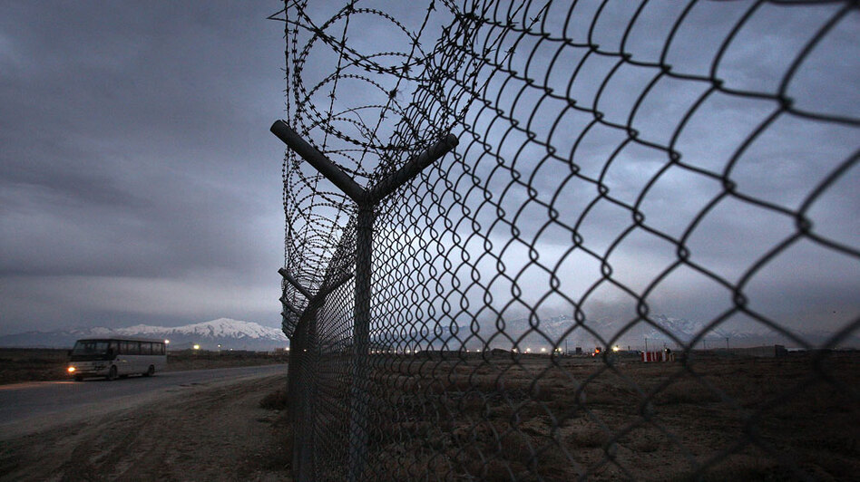 "Human rights officials have begun calling Bagram Air Field in Afghanistan ""Obama's Gitmo."" The base, north of the Afghan capital, Kabul, holds about 600 detainees."