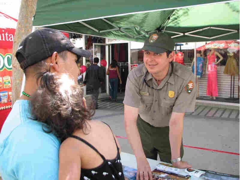 Yosemite National Park Ranger Mauricio Escobar
