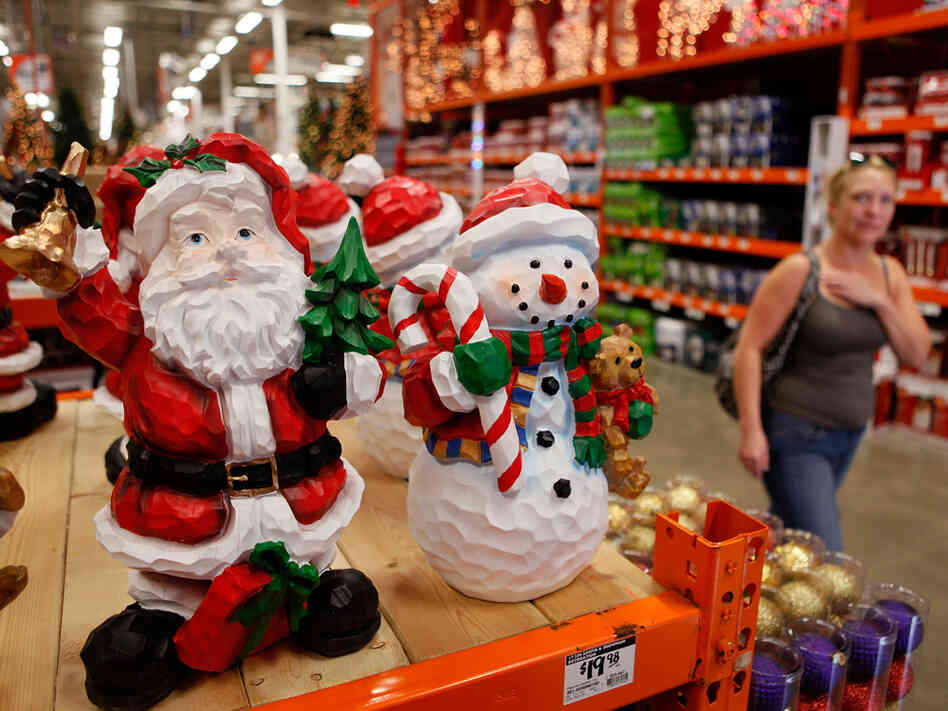 Ho Ho No: Retailers Open Christmas Season Early : NPR