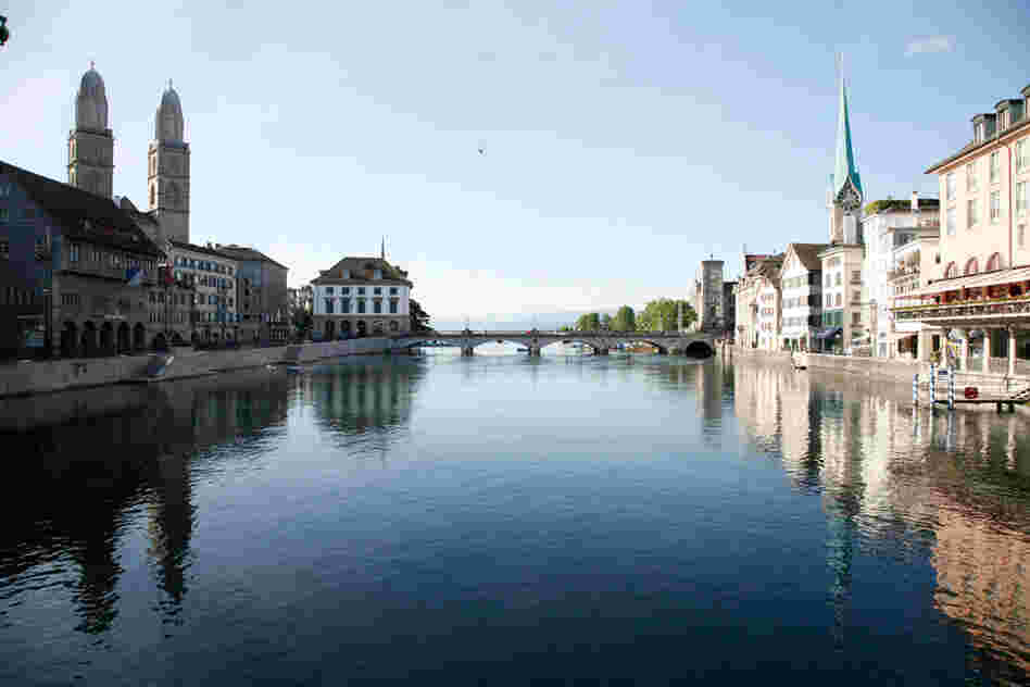 A photo of Zurich. Courtesy Marc Levoy/Stanford.
