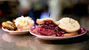 A Ben's Best hot pastrami WIDE