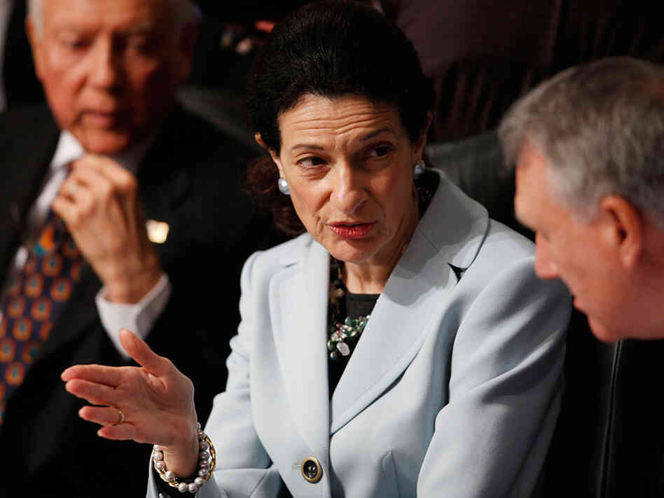 Senate Finance Committee member Olympia Snowe