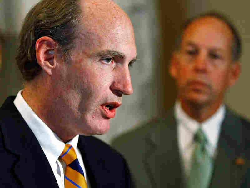 Republican Rep. Thaddeus McCotter of Michigan, primary sponsor of the HAPPY Act