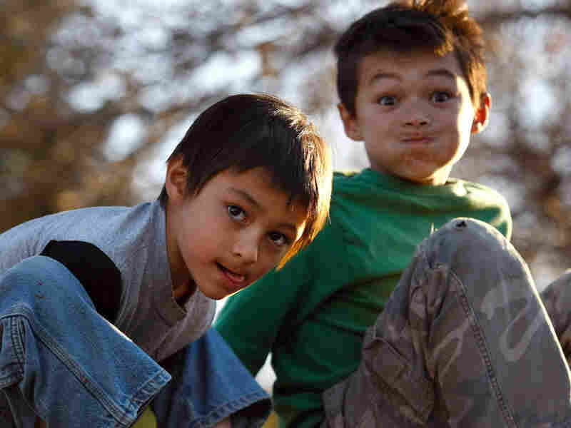 Falcon Heene (left), 6, and his brother Ryo, 8