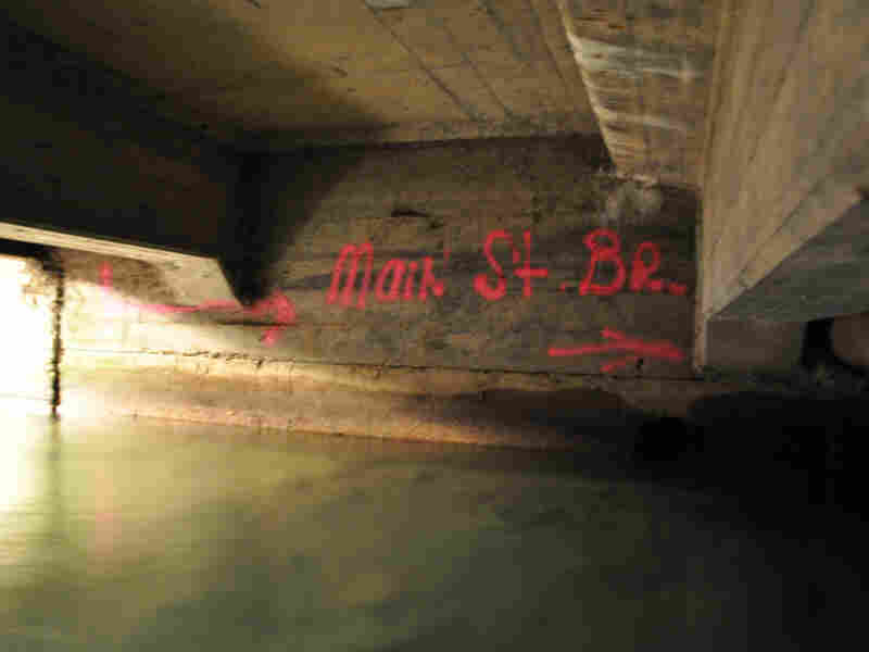Underneath Main Street in Lewistown, Mont. Ian Gray/Mapping Main Street