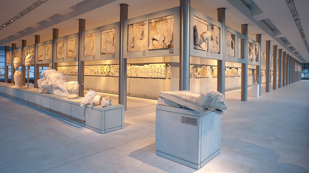 Greece Unveils Museum Meant For Stolen Sculptures Npr