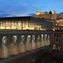 The New Acropolis Museum, with the Parthenon in the background
