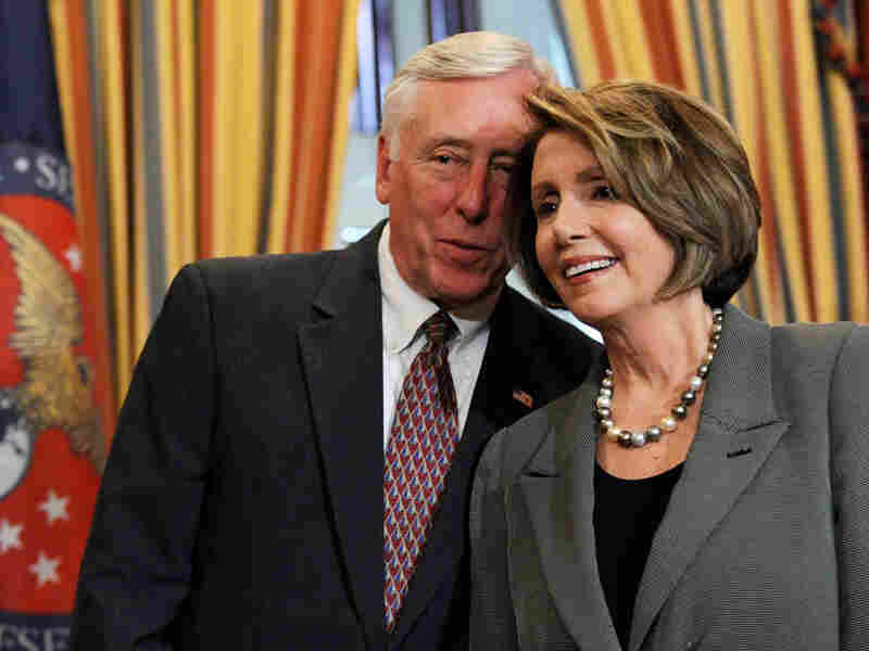 House Majority Leader Steny Hoyer, with Speaker Nancy Pelosi