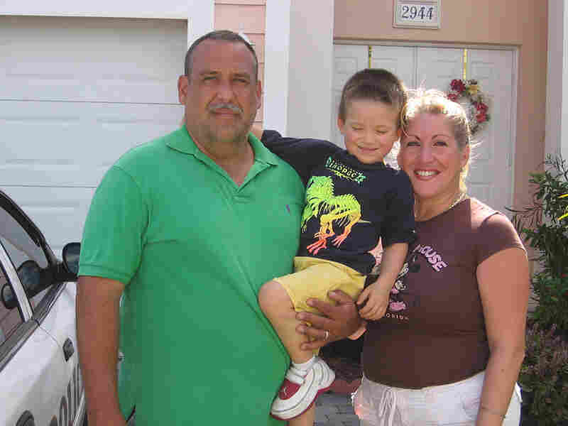 Luis Gonzalez and his family had to move out of their house.