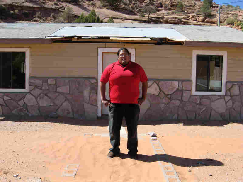Shonto Community Development Corporation Program Director Brett Isaac
