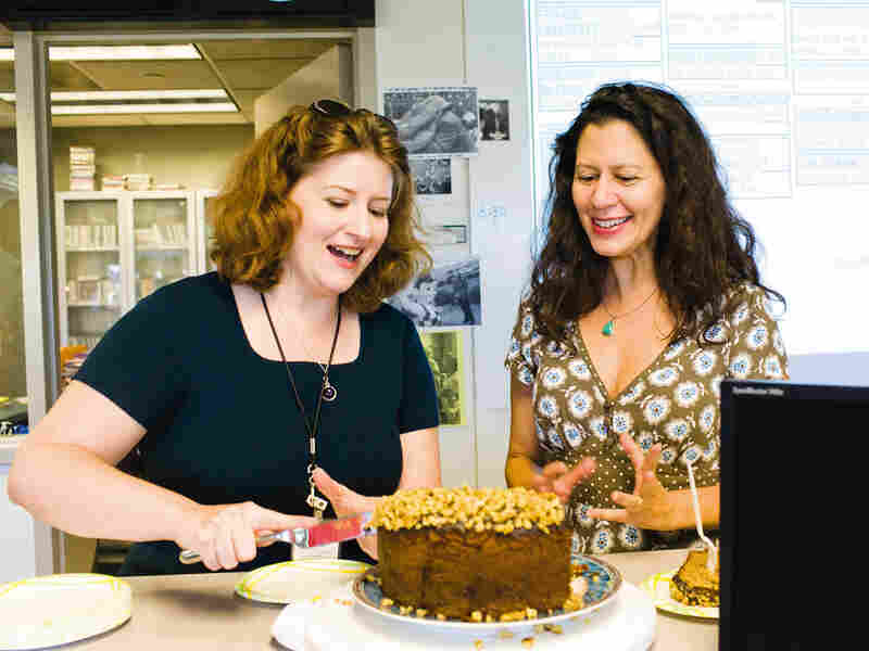 New Cookbook Chronicles A Year Of Cakes At Npr Npr
