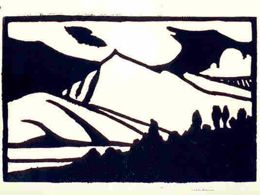 """Mountain Shadows"" by Everett Ruess"