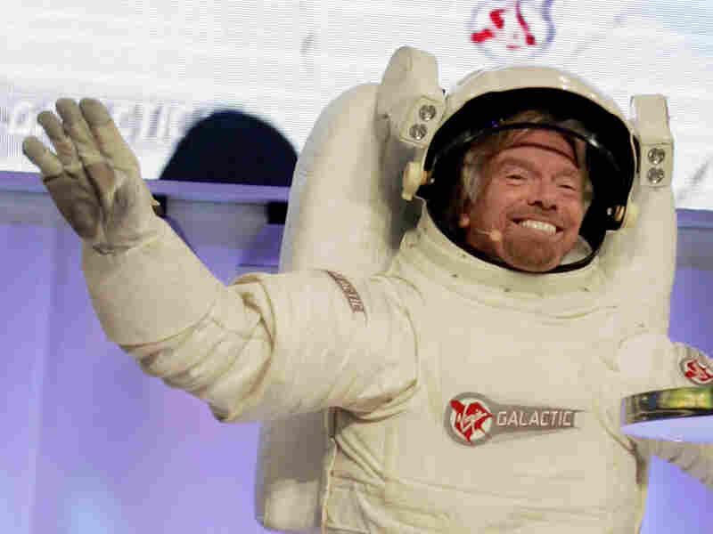 Sir Richard Branson, owner of Virgin Galactic. Richard Drew/AP