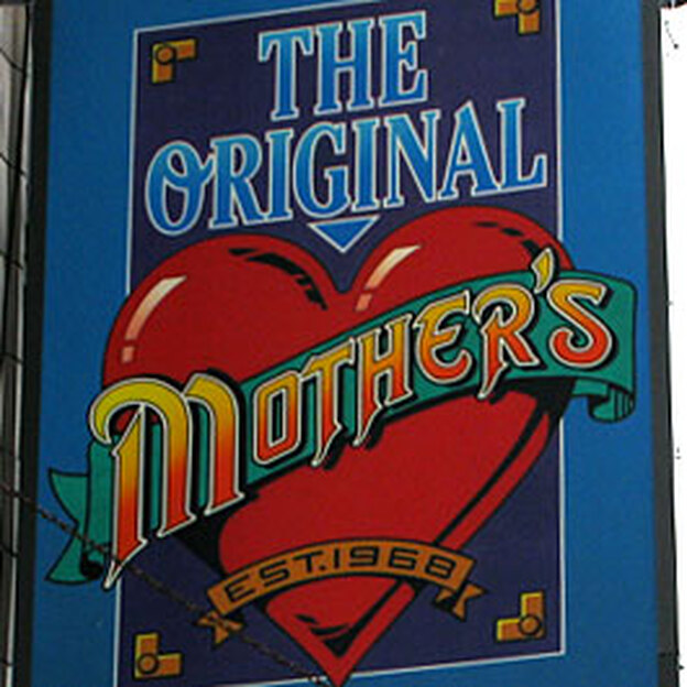 The Original Mother's was made famous in the 1986 movie About Last Night, starring Rob Lowe, Demi Moore and Jim Belushi. (NPR)