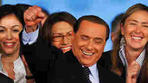 WIDE: Italian Prime Minister Silvio Berlusconi in March 2009 at a People of Freedom's gathering