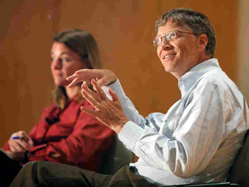 Melinda and Bill Gates, the billionaire co-founder of Microsoft.