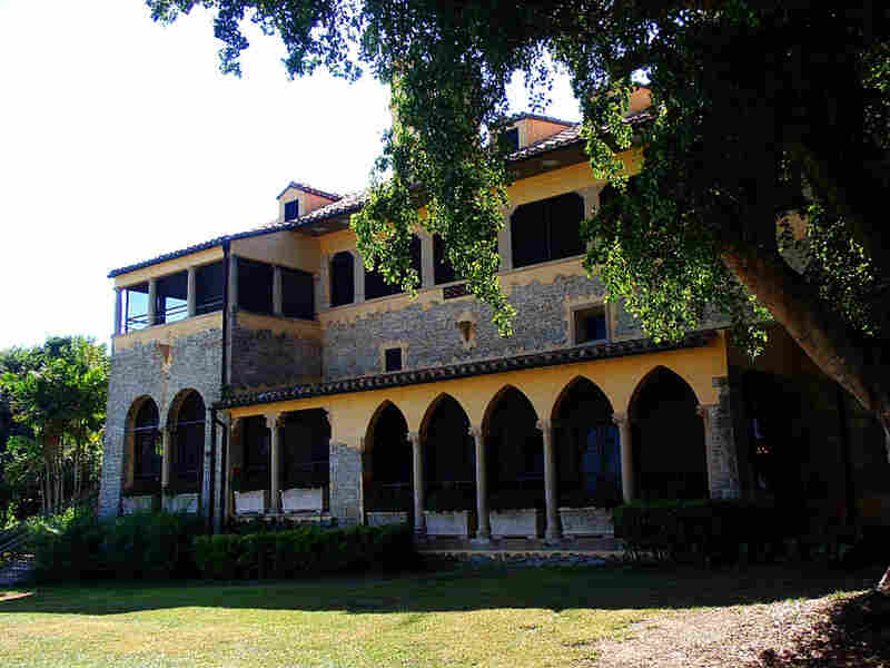 A glimpse of the allegedly haunted Deering Estate in Miami during the daytime.