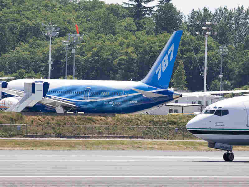 A Boeing 787