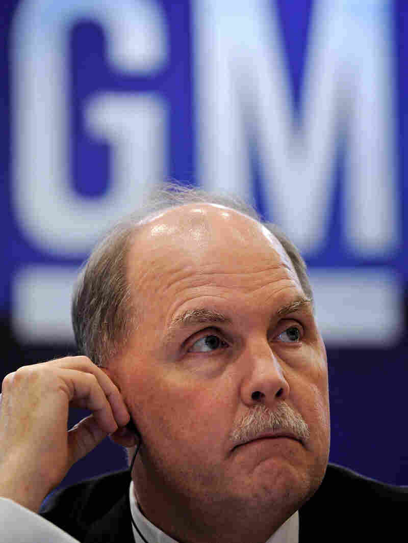 General Motors CEO Fritz Henderson