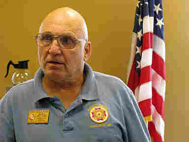 VFW Post Commander Ron Holland